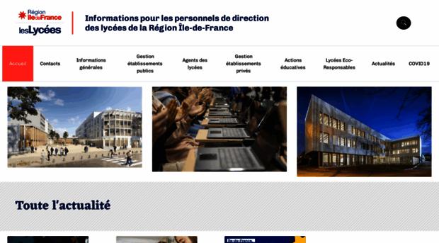 lycees.iledefrance.fr