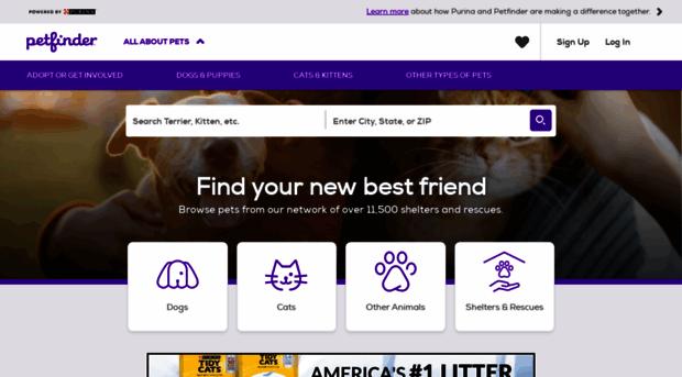 m.petfinder.com
