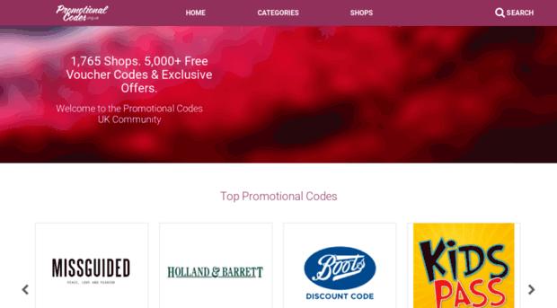 m.promotionalcodes.org.uk