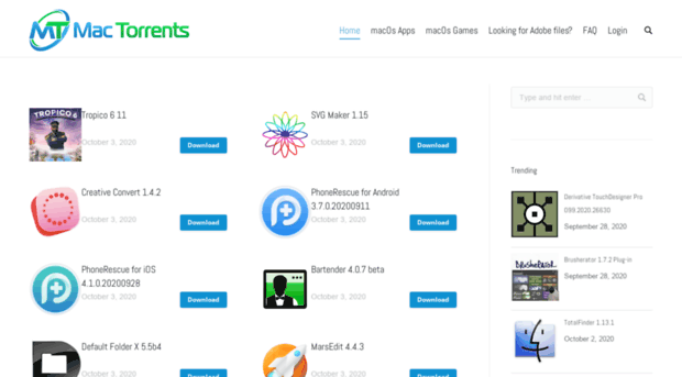 Torrent For Mac Download Free