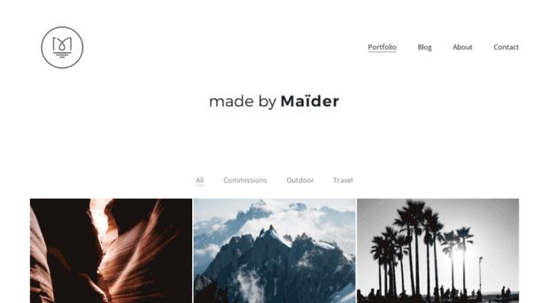 madebymaider.com