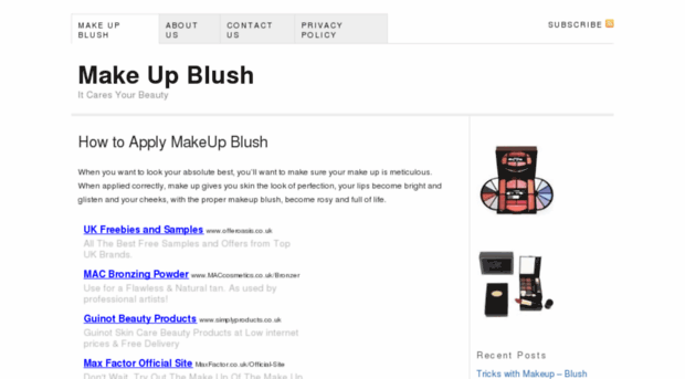 makeupblush.net