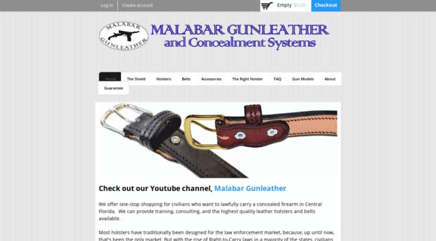 malabargunleather.com