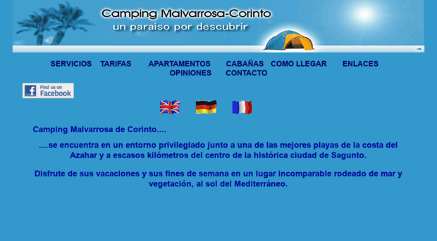Malvacorinto Com Camping Malvarrosa Corinto En Malva Corinto