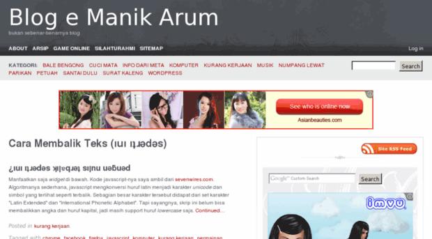 manikarum.com
