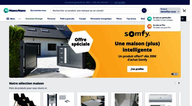 Manomano achat en ligne bric mano for Achat en ligne jardinage