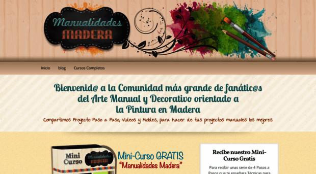 manualidadesmadera.com