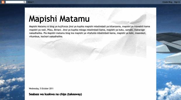 mapishimatamu.blogspot.com