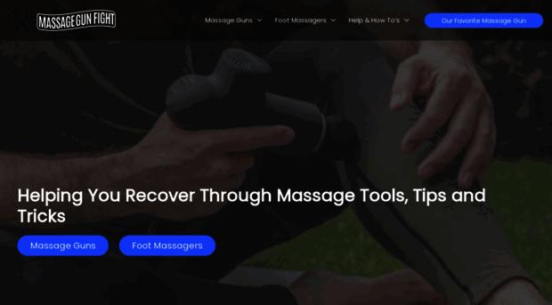 massagegunfight.com