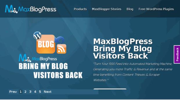 maxblogpress.com