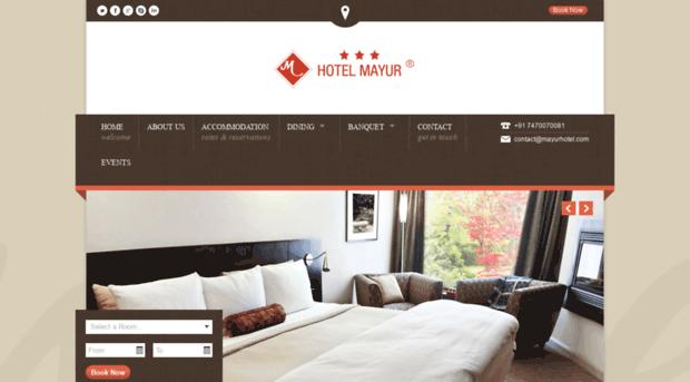 mayurhotel.com