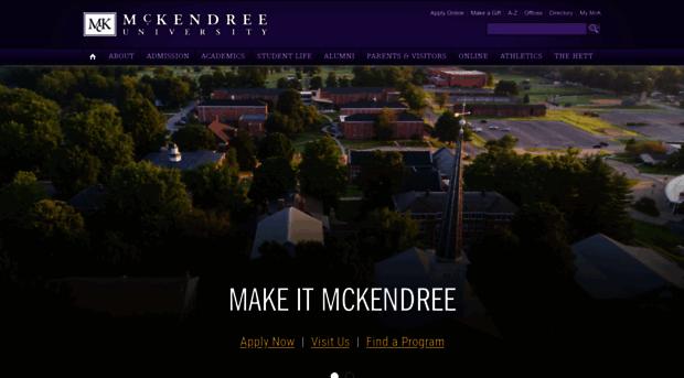 mckendree.edu