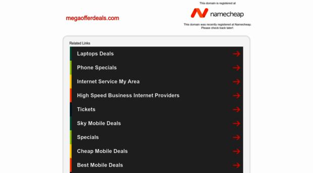 megaofferdeals.com