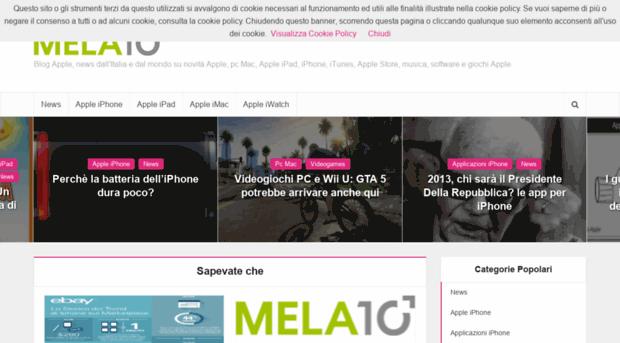 mela10.it