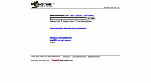 metacrawler.de