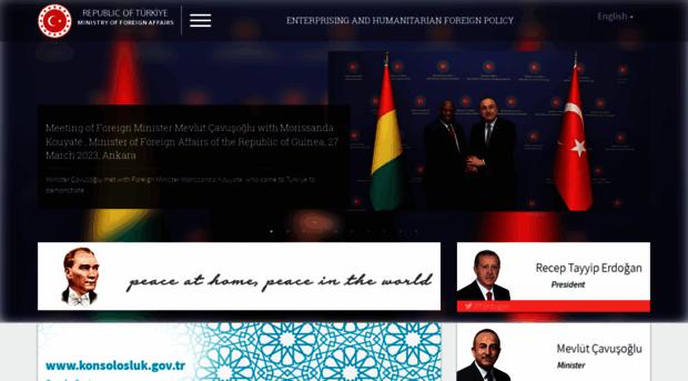 mfa.gov.tr