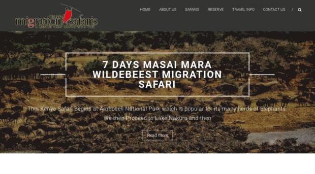 migrationkenyasafaris.com