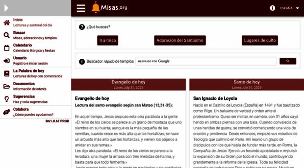 misas.org