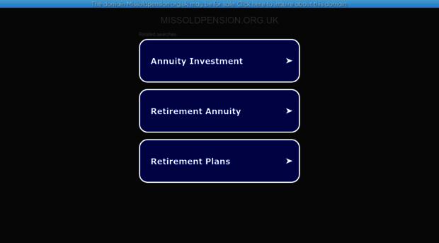 missoldpension.org.uk