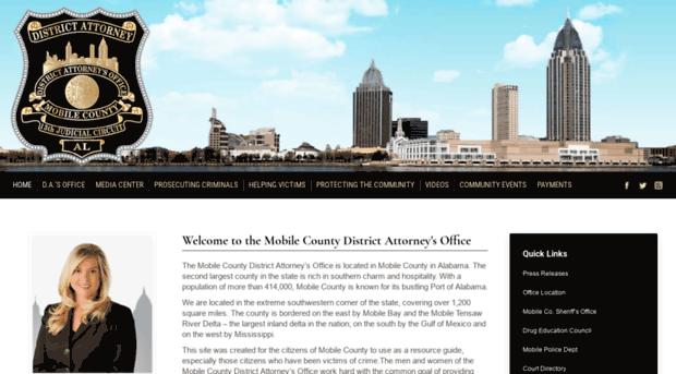 mobileda.org - Mobile County District Attorne... - Mobile Da