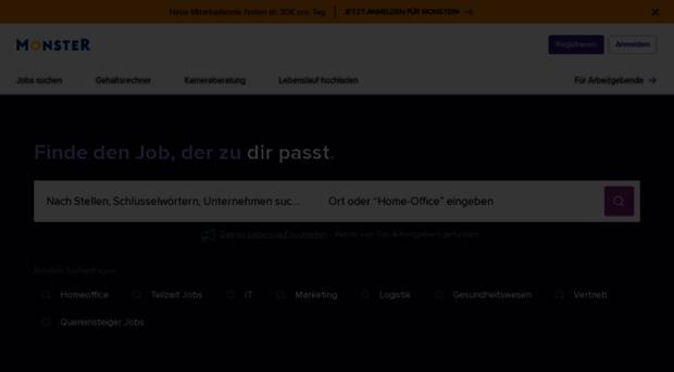 monster.de - Jobbörse, Stellenangebote, Job... - Monster
