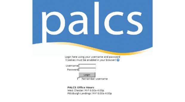 palcs org login