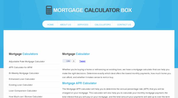 mortgagecalculatorbox.com