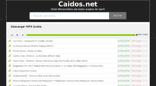 musica.caidos.net