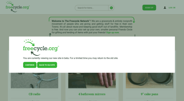 my.freecycle.org