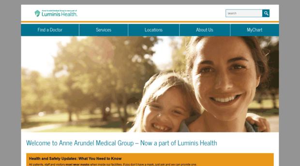 Myaamg Org Anne Arundel Medical Group Myaamg