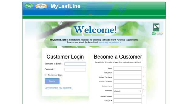 myleafline.com