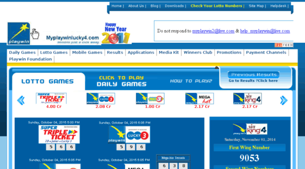 Myplaywinlucky4 Com Khelo India Khelo Play Onlin My Playwin Lucky4
