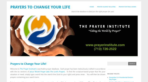 prayers to change your life