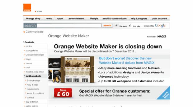 mysite.orange.co.uk