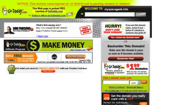 myspacegeek.info