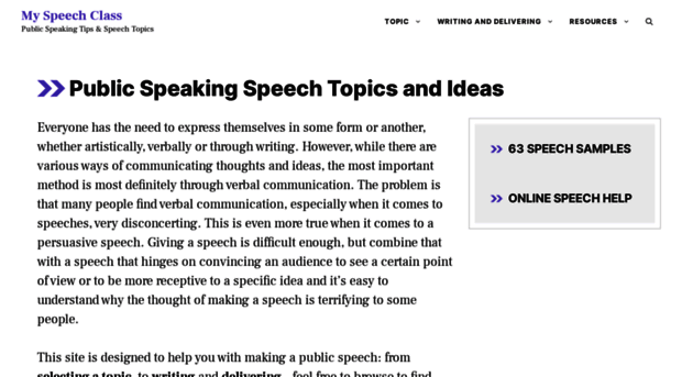informational speech topic ideas