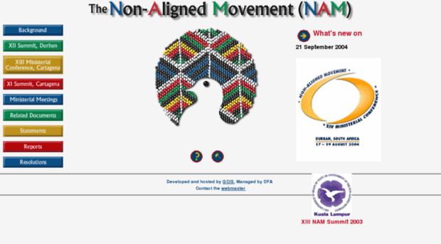 non aligned movement nam The non-aligned movement (nam) was established by the newly independent states who came from the colonial system after prolonged struggle.