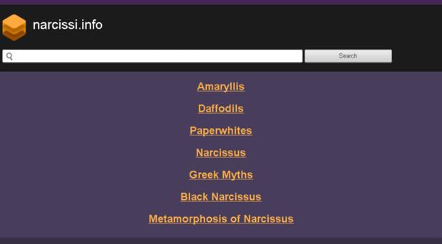narcissi.info