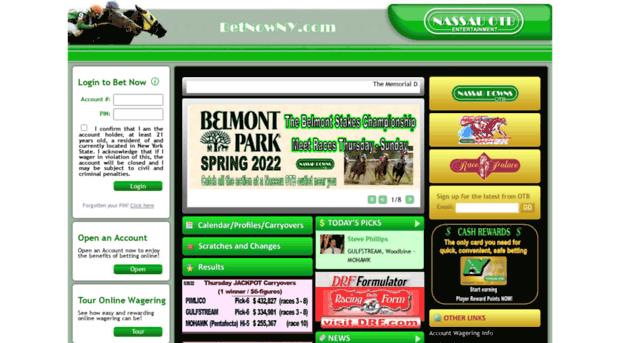 Nassau downs otb online betting free binary options trading strategies