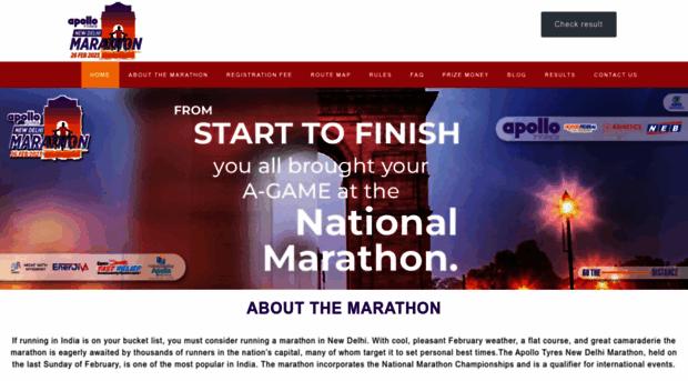 newdelhimarathon.com