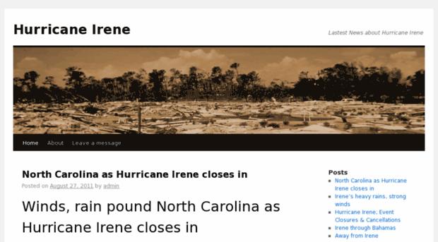 news-hurricane-irene.com