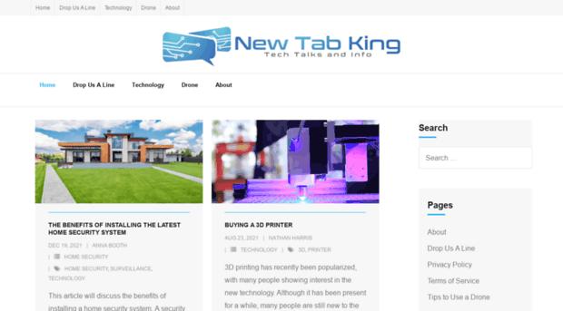 newtabking.com