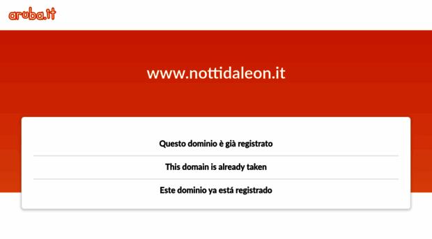 nottidaleon.it
