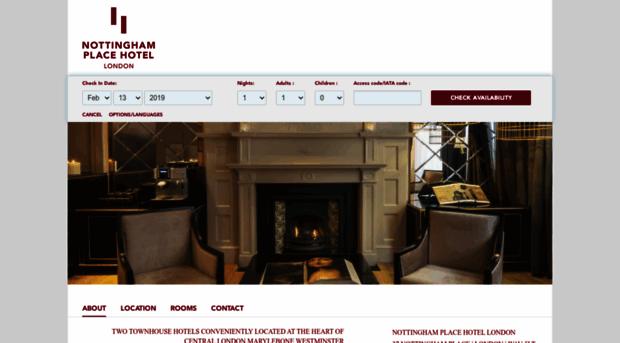 nottinghamplacehotel.com