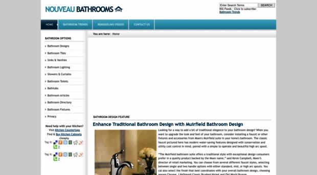 nouveaubathrooms.com