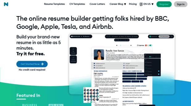 Novoresume Com Resume Builder For 2020 Free Novo Resume