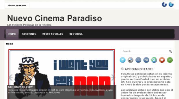 nuevocinemaparadiso.blogspot.com