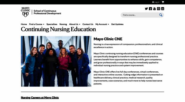nursingconferencesmn.mayo.edu