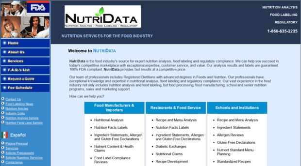 nutritional analysis Find and compare nutrition analysis software free, interactive tool to quickly narrow your choices and contact multiple vendors find the best nutrition analysis software for your business.