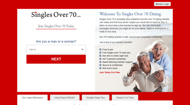Most Used Seniors Dating Online Websites No Register